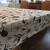 Mantel 146x210cm Lirios Verdes