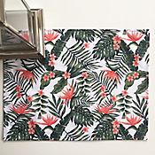 Set x2 Individuales 43x33cm  Flores Tropical