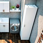 Mueble para Auxiliar Escobas Lavatrapero Pro 46x36 cm Blanco