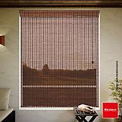 Cortina Enrollable Bambú 140x170 cm Café Bangkok