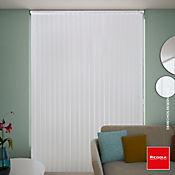 Persiana Vertical PVC Textur 160x220 cm Blanca