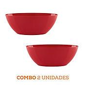 Combo 2 Unidades Matera Barca Roja 35 x 17 x 13 cm