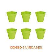 Combo 6 Unidades Matera Capri Verde 14 x 13 cm