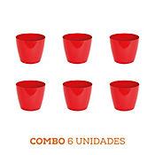 Combo 6 Unidades Matera San Remo Roja 11 x 9 cm