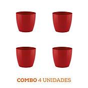 Combo 4 Unidades Matera San Remo Roja 14 x 13 cm