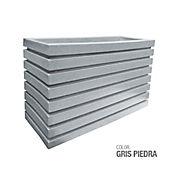 Jardinera Polietileno Gris Piedra 100 x 35 x 60 cm