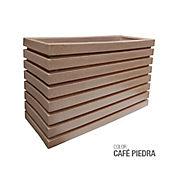 Jardinera Polietileno Café Piedra 100 x 35 x 60 cm