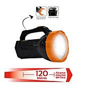 Linterna Recargable 1 LED Alta Potencia 120 Metros
