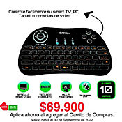 Control Remoto Smart Tv Recargable Alcance 10 Mts