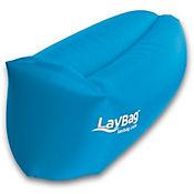 Sofá Inflable y Flotador Para Camping Laybag Azul
