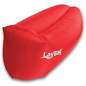 Sofá Inflable y Flotador Para Camping Laybag Rojo