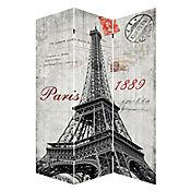 Biombo Paris Torre 120x180 cm
