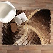 Tapete Shaggy 3D 150x220 cm Café