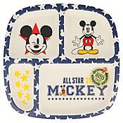 Plato Divisiones Bambú Mickey All Star