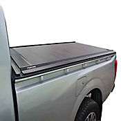 Cubierta en Aluminio para Mahindra Pick Up Doble Cabina Con Mini Barra Protector Vidrio Trasero / Platón 1.49 Mt Largo para Modelos 12-16