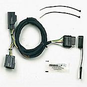 Conector Para Remolque 4 Vías Plano para Jeep Wrangler Modelos 07-15