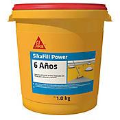 Sikafill Power 6 Años Gris 1Kg - 1/4Gl