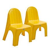 Set x2 Sillas Infantiles Amarillo