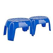 Set x2 Butacos Infantiles Azul