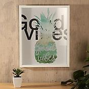 Cuadro Good Vibes 43x53 cm