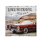 Cuadro Love Travel 60x60 cm