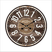 Reloj Pared 33,8 cm Café Texas