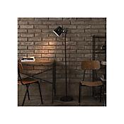 Lámpara De Pie Assen 1 Luz E27 Negro