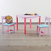 Set Mesa Infantil + 2 Sillas Gatitos