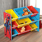 Organizador 9 cajas 84x30 spiderman
