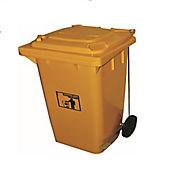 Basurero Plástico con Pedal Am 240l