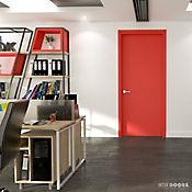 Puerta Rojo Caribe 60 x 235 cm