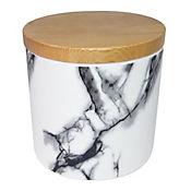 Canister marmolizado cerámica 16 oz