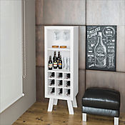 Mueble para Bar Barcelona 44.8x135x37.5cm Blanco