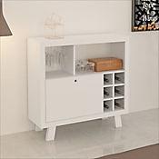 Mueble para Bar Madrid 90x78.5x31.5cm Blanco