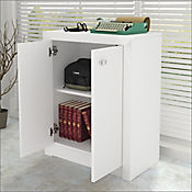 Mueble Auxiliar de Oficina Houston 60x74.5x31.5cm Blanco