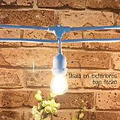 Guirnalda Exterior 24 Luces 15 metros E27 Blanca