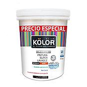 Pintura Superlavable Kolor Blanco 5 Galones Precio Especial