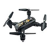 Quadcopter QEGDM107-S Fotos y Videos en Tiempo Real Full HD 2 Megapíxeles Plegable Negro