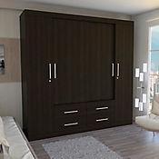 Closet Fira 51.8x200x200cm Wengue