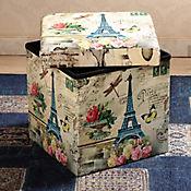 Caja Plegable Puff Eifel 38x38x38 cm