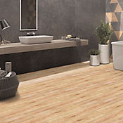 Piso Gres Porcelanico madera tarnishedgold 15x90 1.08m2
