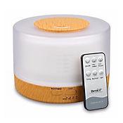 Difusor de Aromas Humidificador LED 4 en 1 Blanco