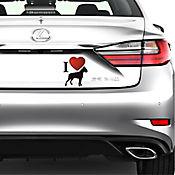 Sticker para Carro - Perro Grande