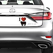 Sticker para Carro - Perro Grande 2