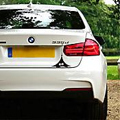 Sticker para Carro - Monstruo Grande