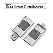 USB Multifuncional de 32GB Iphone, Android y PC