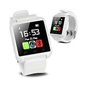 Reloj Inteligente Smartwatch U8 Bluetooth Notificaciones Android-Blanco