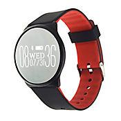 Reloj Inteligente con Pulsera L5 Waterproof Ritmo Cardíaco Color Rojo