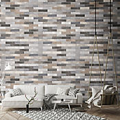 Porcelanato Pared Brick 6X25 Lisbon Mix Caja 0.3 m2