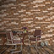 Porcelanato Pared Brick 6X25 London Cotton Caja 0.3 m2